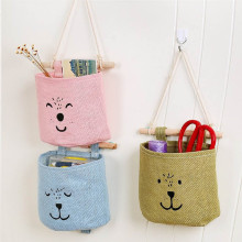Kitchen Bathroom storage bag Sundries Storage Wall Door Toys Pockets Hang Pouch Organizer Hanging Bag(China)