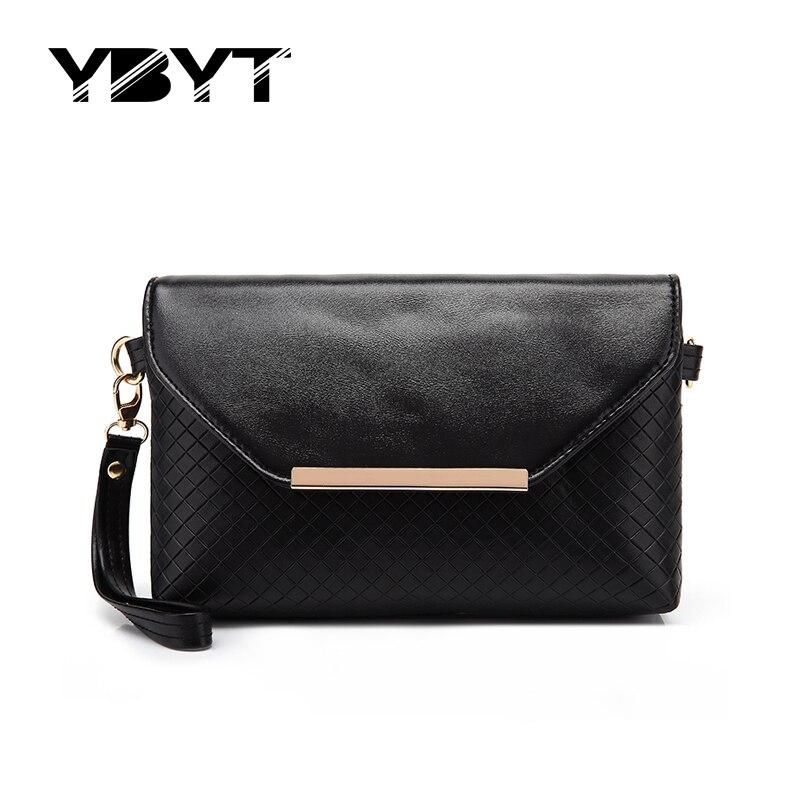 YBYT brand 2017 new joker leisure envelope clutch hotsale ladies cell phone evening bags simple shoulder messenger crossbody bag<br><br>Aliexpress
