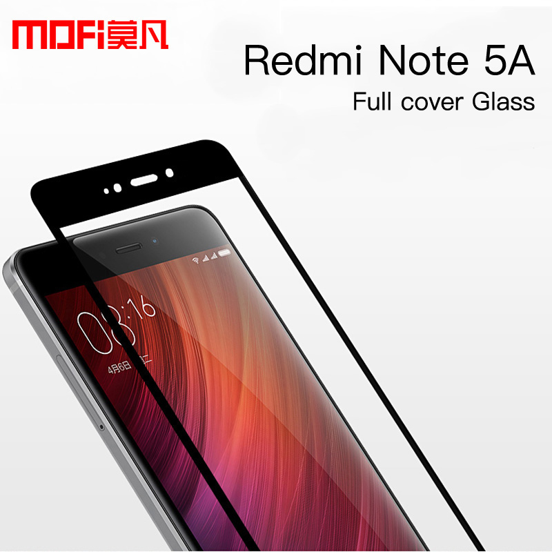 xiaomi redmi note 5a glass tempered xiaomi redmi note 5a screen protector ultra thin mofi slim clear redmi note 5a temered glass