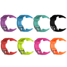 8 Color Couple Version Silicone Watchband Replacement Bracelet Watch Band Replacement for Garmin Forerunner 10/15