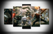 7469 dota 2 Poster Framed Gallery wrap art print home wall decor wall picture Already to hang digital print wholesale modern(China)