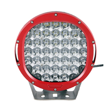 185w 9inch Red round led driving light FACTORY DIRECT led off road light led work light for SUV ATV UTV 4X4 15725LM fog Ramp(China)