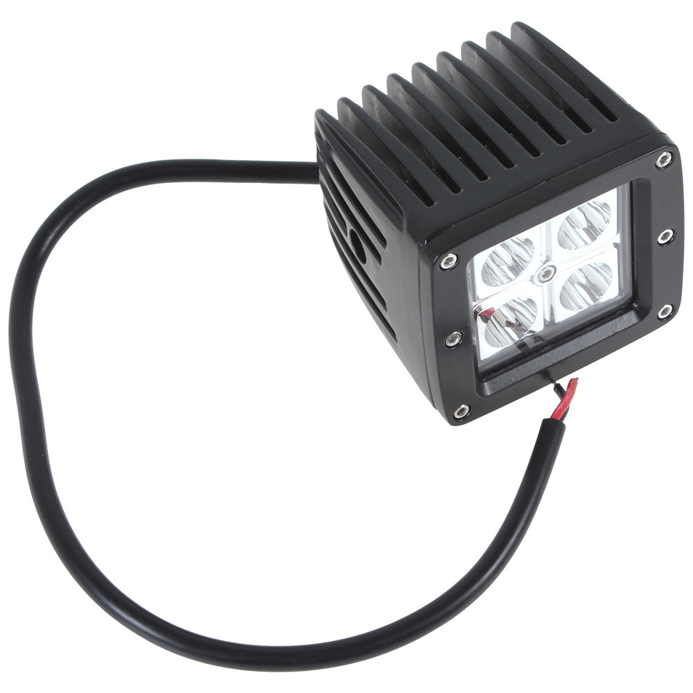 Waterproof 12V/24V 3 Inch 1280LM 16W LED Work Light for Motorcycle / Tractor / Boat / 4WD Offroad / SUV / ATV<br><br>Aliexpress