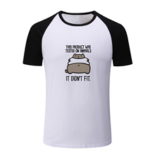 This Product Was Tested On Animals Design Funny T Shirt Men Boy Women Raglan Sleeve T-shirt Positive Quotes You Decide Tshirt
