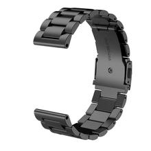 Splendid 2016 Fashion New Stailess Steel Bracelet Strap Watch Band For Garmin Fenix 3