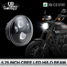 COLIGHT 5.75 Inch Led Headlights 6000K 40W Motorcycle Projector High Low Beam for Motorcycles Harley Headlight Niva(China)