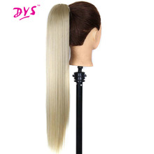 Buy Deyngs 60cm Claw Ponytail Long Straight False Hair Extensions 140g Heat Resistant Claw Clip Synthetic Hair Women for $7.03 in AliExpress store