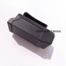 Black  CQC Polymer Holster magazine pouch black gun holster pouch for 9mm to .45 caliber