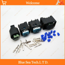 Sample,4 sets 2/3/4/6 Pin female Auto Ride height/oxygen sensor plug,Car EGOS/EGS Electrical plug for Porsche,Audi,VW,BMW etc.
