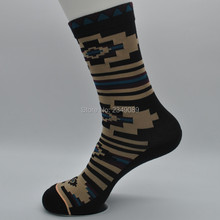 1 Pair USA Brand combed cotton Women's socks Skate socks with logo(China)