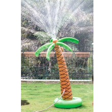 Inflatable Water Float Bath Toy Inflated Palm Tree Drink Holder Swimming Pool Party Favors Children Summer Outdoor Fun Toys