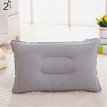 Inflatable Outdoor Camping Pillow Soft Ultralight Travel Pillow Cushion Portable Folding Air Mattress Pillow