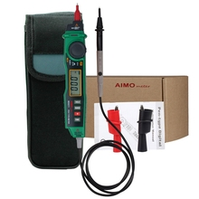 Aimometer MS8211 Digital Pen Type Multimeter Multitester Handheld Meter DMM Non-contact Voltage NCV Detector Tester