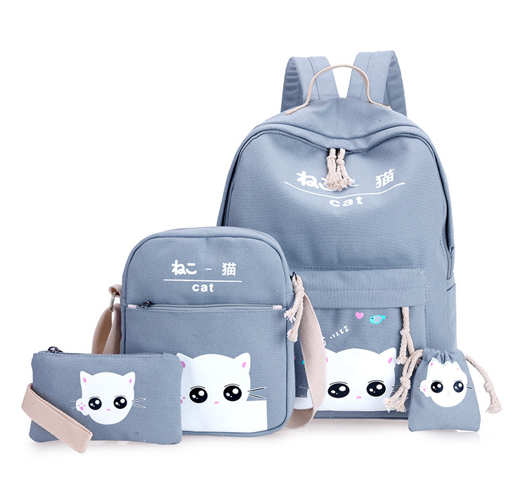 حقيبة الظهر للأطفال 4 قطع 5