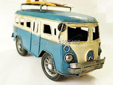 Fashion Metal Model Car microbiotic vintage collection room decoration Iron craft retro home/Pub decoration(China)