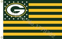 NFL flag Green Bay Packers Flag 3x5 FT(China)