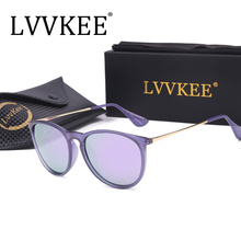 2017 selling branded LVVKEE ladies women Polarized Sunglasses fashion designer driving retro cat-eye sunglasses 4171 TR90 framed