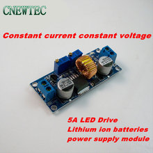 10pcs/lot 5A LED Drive Lithium ion batteries power supply module step down input 6-38V output 1.25-36V Constant current  voltage