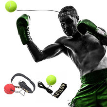 Fighting Ball Boxing Equipment with Head Band for Reflex Speed Training Boxing Punch Muay Thai Exercise(China)