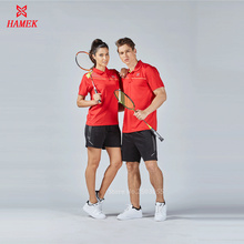 top quality 2017 men women breathable badminton sets jerseys table tennis suits shirts + shorts uniforms outdoor sport wear(China)
