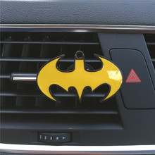 Superman VS Batman Car styling Ornament Air conditioner air freshener Women and men car perfume clip Perfumes 100 Original