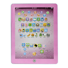 Children's tablet infantil Learning Machine Computer Russian Education Tablet Toy Gift For Kids Convenient to Use Best Seller(China)