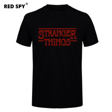 mens t shirts fashion 2017,Stranger Things Men T Shirt 2017 Cotton Short Sleeve Men Fashion Shirt Tops Tees Men's T-shirt(China)