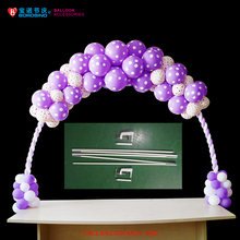 B409 White Table Balloon Arch for Balloon Stand Decoration(China)