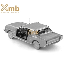 2016 Fascinations Metal Earth 3D Laser Cut Model Ford Mustang