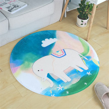Buy Cartoon Elephant/Bear Soft Carpet Living Room European Home Warm Plush Floor Rugs Mats Faux Fur Area Rug Living Room Mats for $11.61 in AliExpress store