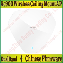 2G+5G Dual Band Wireless Ap 900Mbps AC900 Indoor Ceiling AP 802.11b/g/n 11AC WiFi Access Point,POE Power Supply, 1000M RJ45 Port