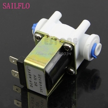 Electric Solenoid Valve for Water Purifier Ionizer Refrigerator Normally Closed DC 12V #S018Y# High Quality