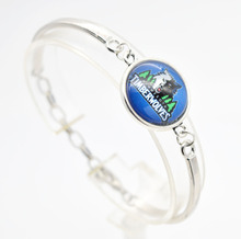 2017 New Basketball Charm Minnesota Bracelets&Bangle for Women Super Bowl Fans Jewelry