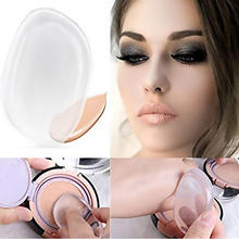 Soft Silicone Gel Lady Face Foundation Makeup Puff Cosmetic Beauty Tool Not Sponge Powder Blender For Liquid Foundation BB Cream