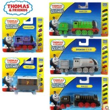2017 new style 1:64 Diecast model Thomas and friends with hook trainmaster racing raul ,racing ivan,streamlined thomas,yong-bao(China)