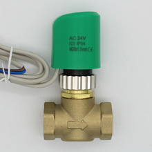 24v normally open normally closed electric thermal actuator for manifold underfloor thermostat radiator valve DN15- DN25 M28X1.5(China)