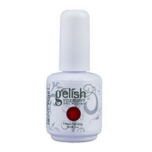 Best Sale Dark Red Nail Art Soak Off Polish UV Gel Builder 15ml Hot