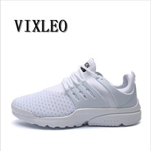 2018 New Fashion Sport Men Shoes Air mesh Breathable High Hop Slip on Casual Men Trainers Zapatillas Hombre Presto shoes 36-45(China)