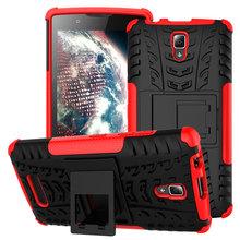 Case For Lenovo A2010 Case New Back Case plastic mixing TPU PC dual position For Lenovo A2010 armor sets example Capa(China)