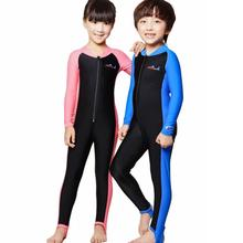 Free Shipping Boys and Girls Snorkeling Suit, UPF50 Lycra Jellyfish Garment Snorkeling Conjoined Baby Diving suit ,Windsurf(China)