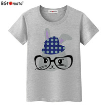 BGtomato New style cartoon shirts women t-shirts Original Brand good quality comfortable cool tops cheap sale brand clothes(China)