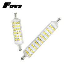 The Wholesale Price R7S led Sportlight 220V 118mm 78mm 360 degree lampadas SMD2835 led bulb replace halogen lamp super bright(China)