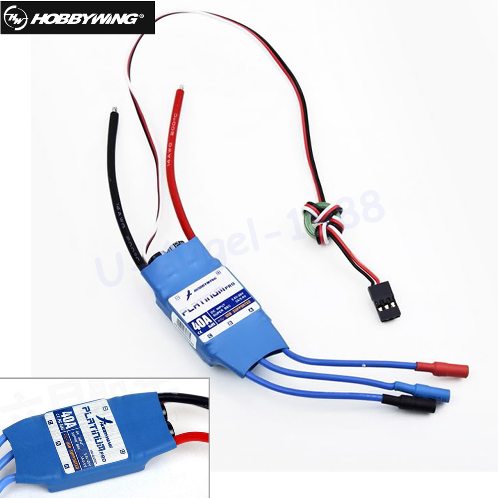 1pcs HobbyWing PLATINUM 40A PRO Platinum-40A-PRO For 450 RC Helicopter<br>