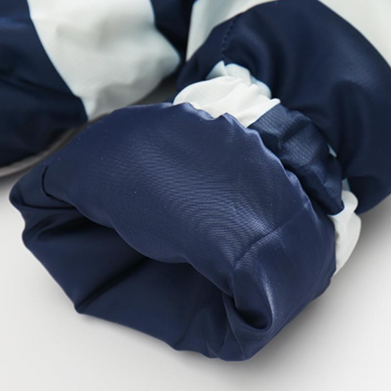 CROAL CHERIE 80-120cm Fashion Star Windproof Striped Jacket For Boys Winter Coat For Girls Children\`s Winter Velvet Clothes (1)