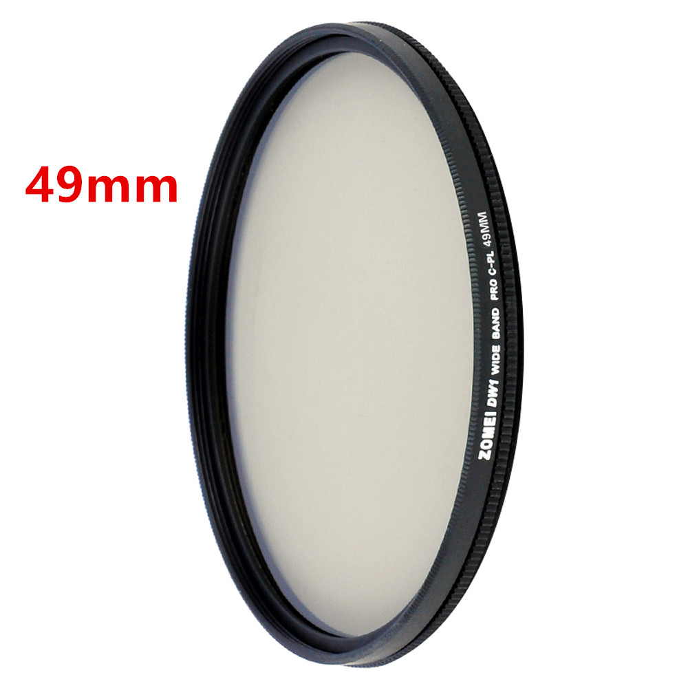 Zomei HD High Definition CPL Circular Polarizer Polarizing Filter for DSLR Camera Lens 49mm 52mm 58mm 62mm 67mm 77mm 82mm 4