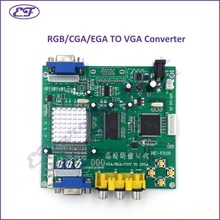 Free shipping  RGB/CGA/EGA TO VGA Converter Board with one output-Video Board for arcade game machine