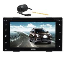 car tape recorder Double 2din car dvd GPS/Radio tuner/MP3/USB/SD/Bluetooth/Stereo/Video Free Map and Camera Capacitive screen