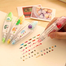 Cartoon stickers for kids pvs sticker correction tape pen sticker pen scrapbooking diary school book decor masking tape