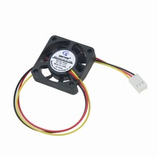 Gdstime 5 Piece Small 40mm 40x10mm 4CM DC 24V 3 wire 9 Blade Brushless Cooling Coolre Fan