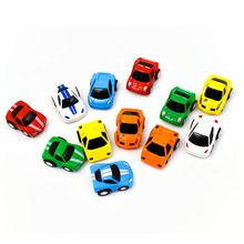 12Pcs/Lot 2016 Classic Car Mini Toy Gifts To Children Pull Back Car Dinky Model Cheap Toys Cars For Boys Brinquedos Juguetes(China)